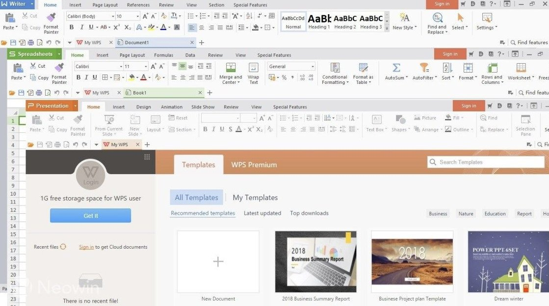 Seven alternatives to Microsoft Office, free and for local and online use 46