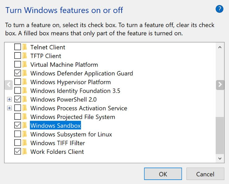 What is Windows Sandbox, how it is activated and what it is used for 36