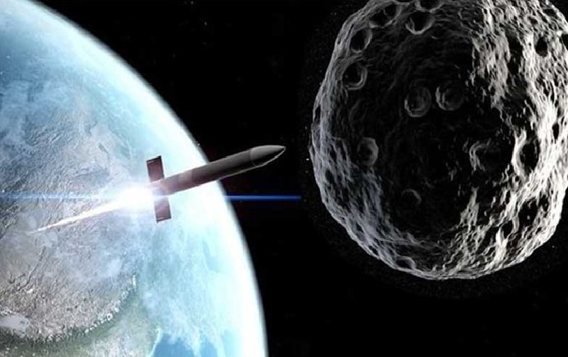 NASA and other scientists wonder how to deflect an asteroid.