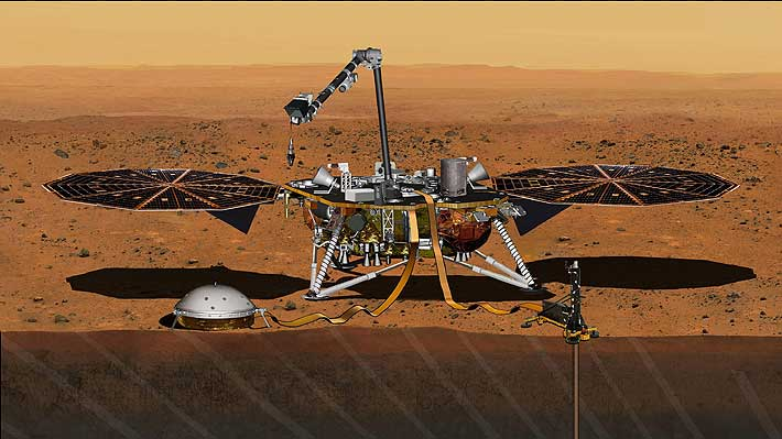 The NIGHT Insight mission detected the mysterious magnetic pulses on Mars.
