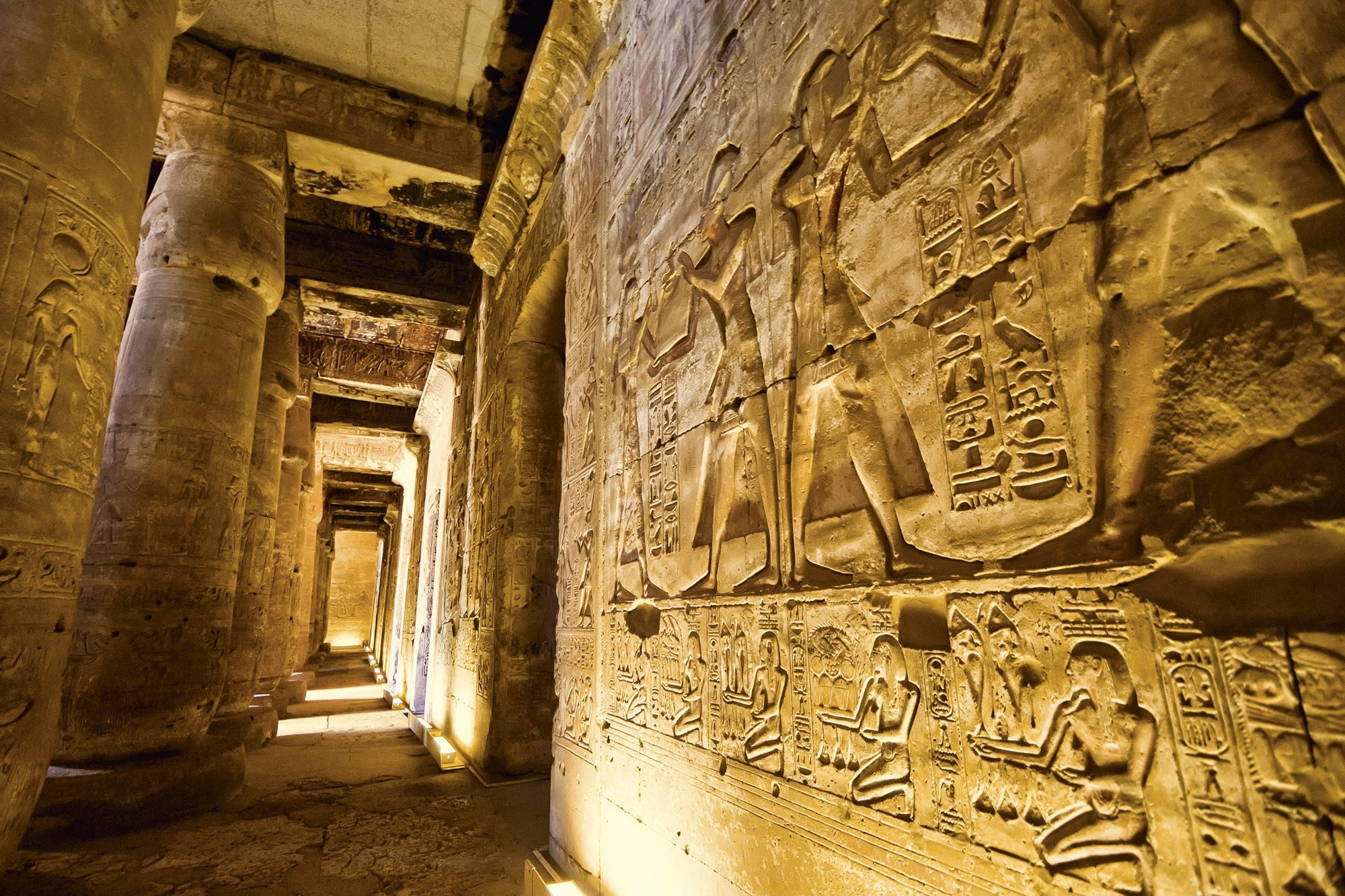 Many secret passages have been previously found in tombs in Egypt.