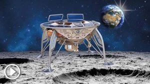 The space probe sent by Israel to the Moon crashes when it was ready to land