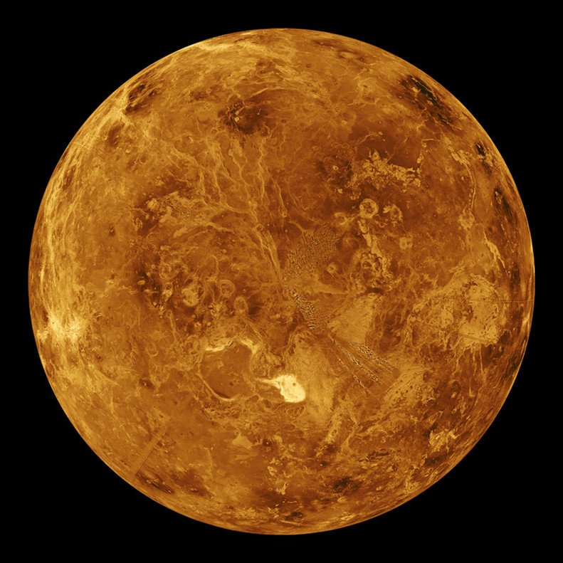 The planet Venus is extremely hot.