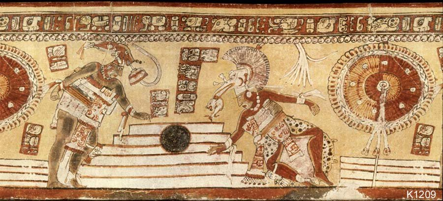 There are numerous representations of the ball game in cultures of present-day Central America
