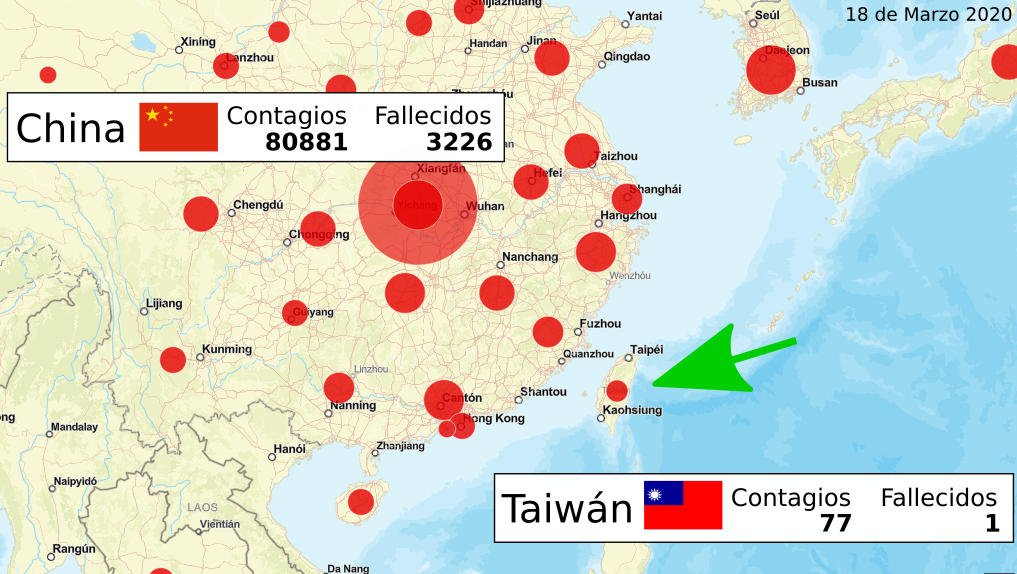 Taiwan managed to contain the coronavirus outbreak: they did so