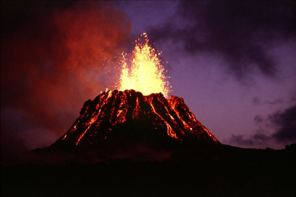 Some evidence from Hawaii's volcanoes would confirm the theory.