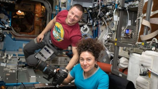 Astronauts who have returned from one prison to another have returned to another planet.