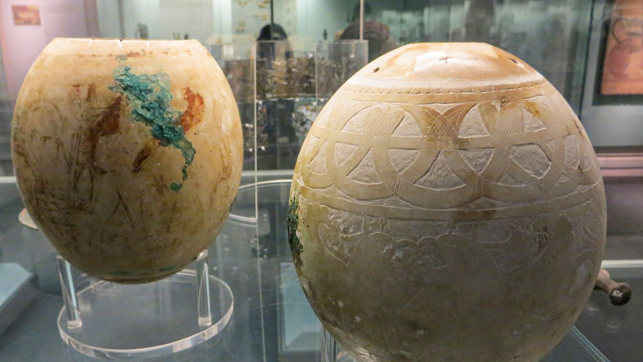Eggs decorated thousands of years before Easter