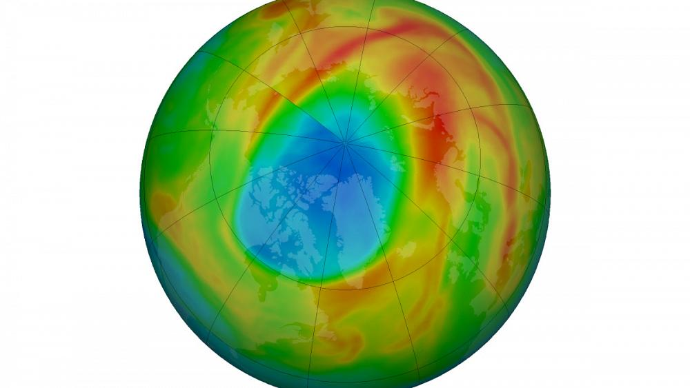 The hole in the ozone layer is closed