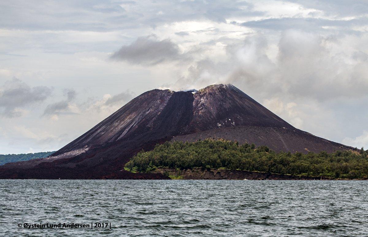 Anak Krakatoa island