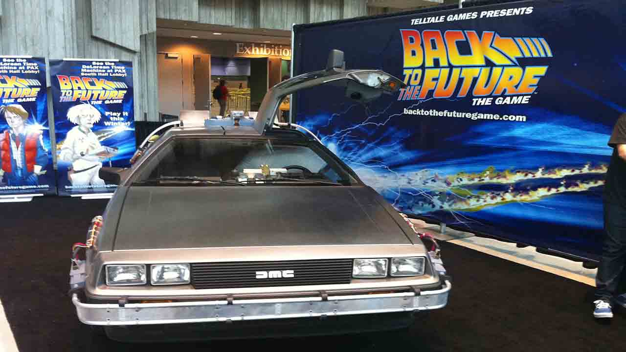 Back to the future became a film myth