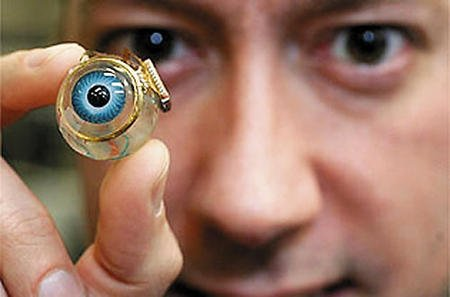 Will we ever be able to choose whether we have our eyes or bionic eyes?