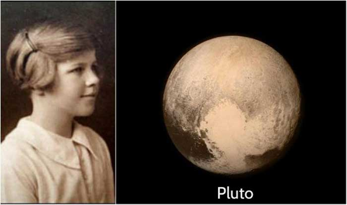 The girl who called Pluto