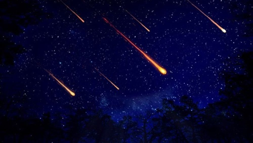 Debris left behind by Halley's comet hundreds of years ago creates the meteor shower Eta Aquarid.