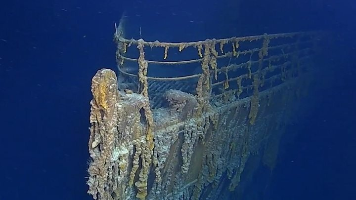 You want to restore the Titanic's telegraph