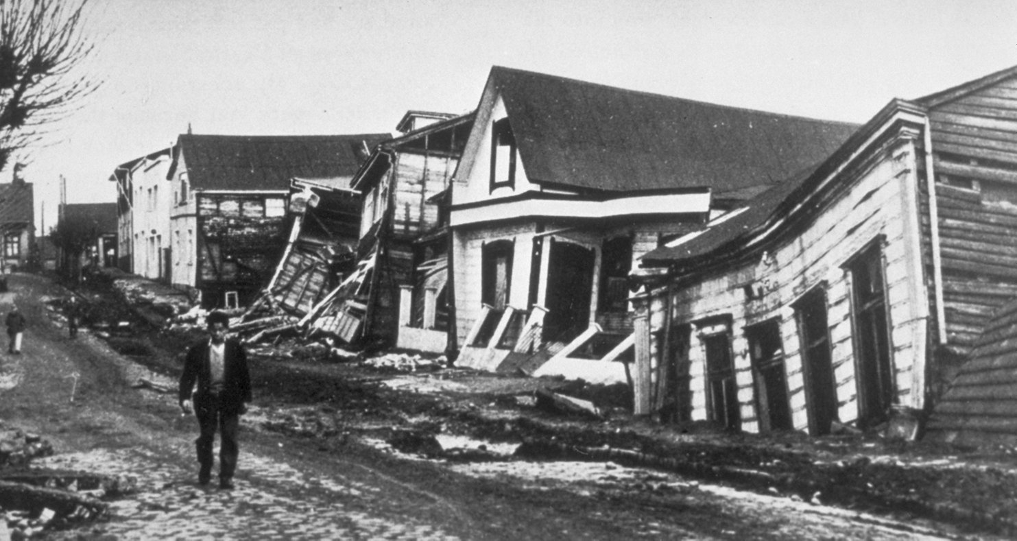 1960 earthquake in Valdivia