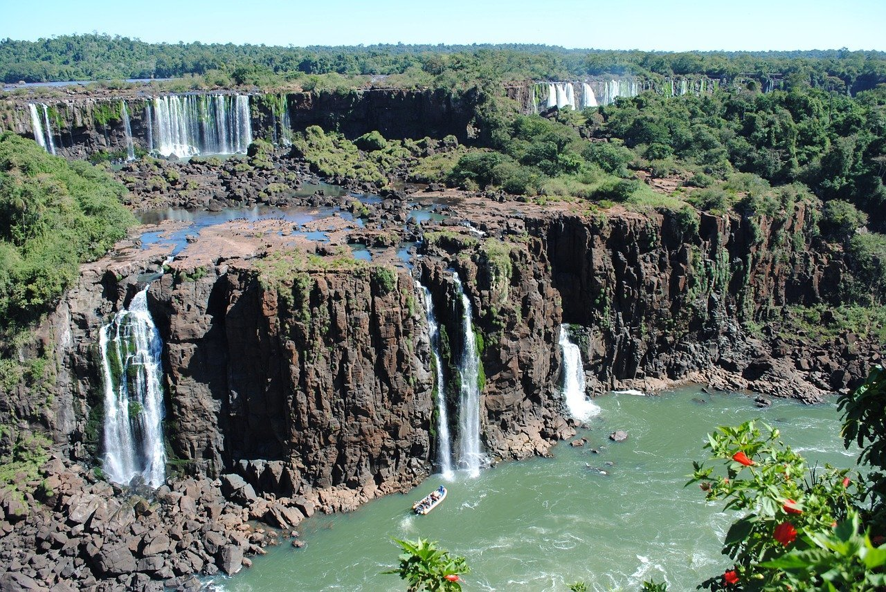 Iguazú Falls ran out of water