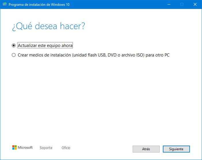 """You can now install Windows 10 2004 using the media creation tool 41 """"width ="""" 702 """"height ="""" 555"""