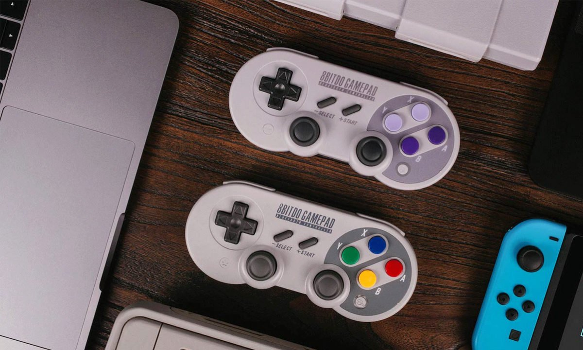 8Bitdo Sn30 Pro Wireless Controller PC switch