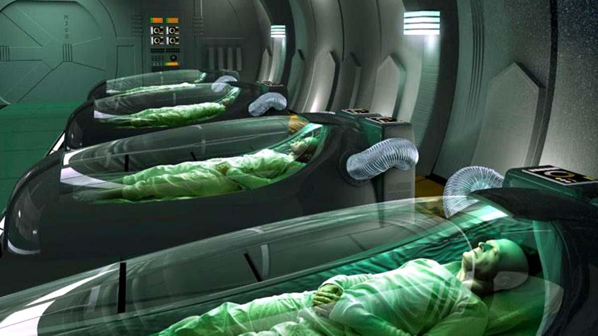 Astronauts hibernate in sight. The future.