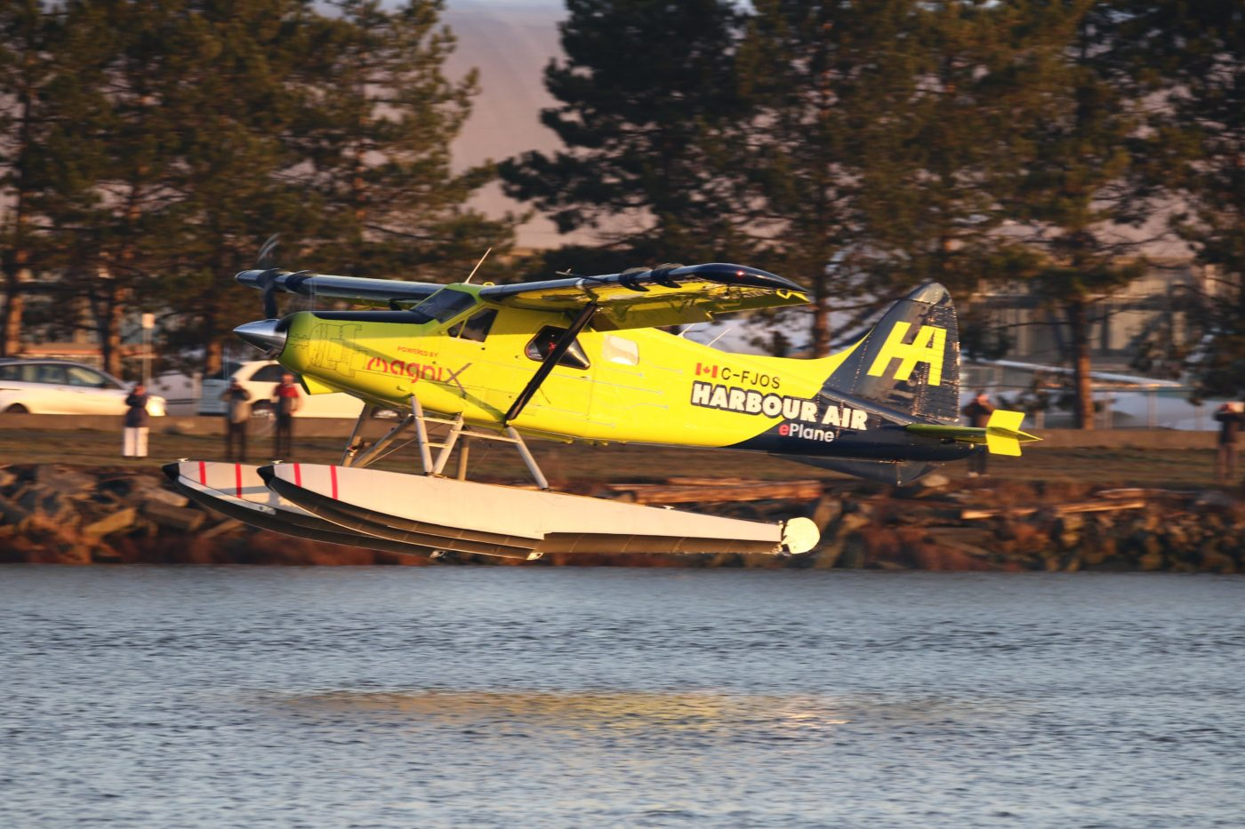 Harbor Air's eBeaver made history the first time it flew an electric plane.