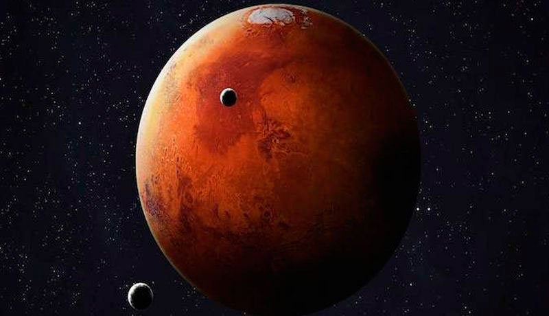 The planet Mars had rings. One of his two current moons confirms this.