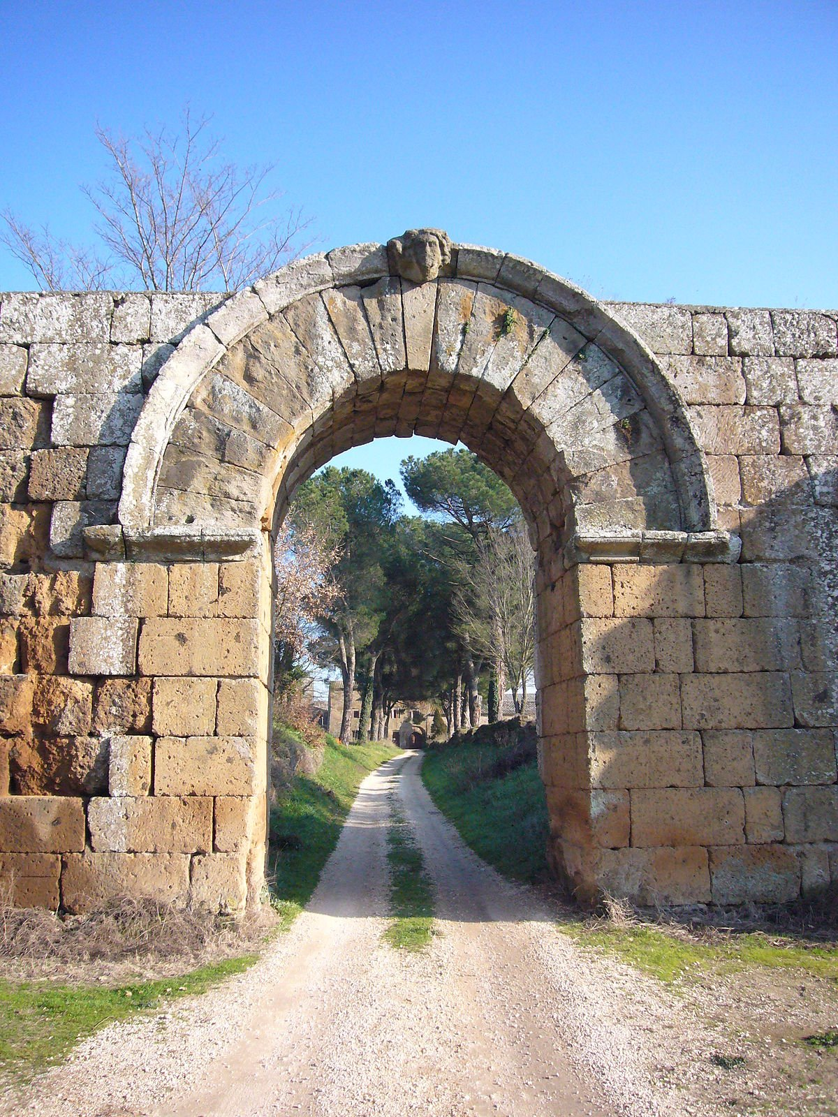 Falerii Novi preserves impressive traces of Roman culture.