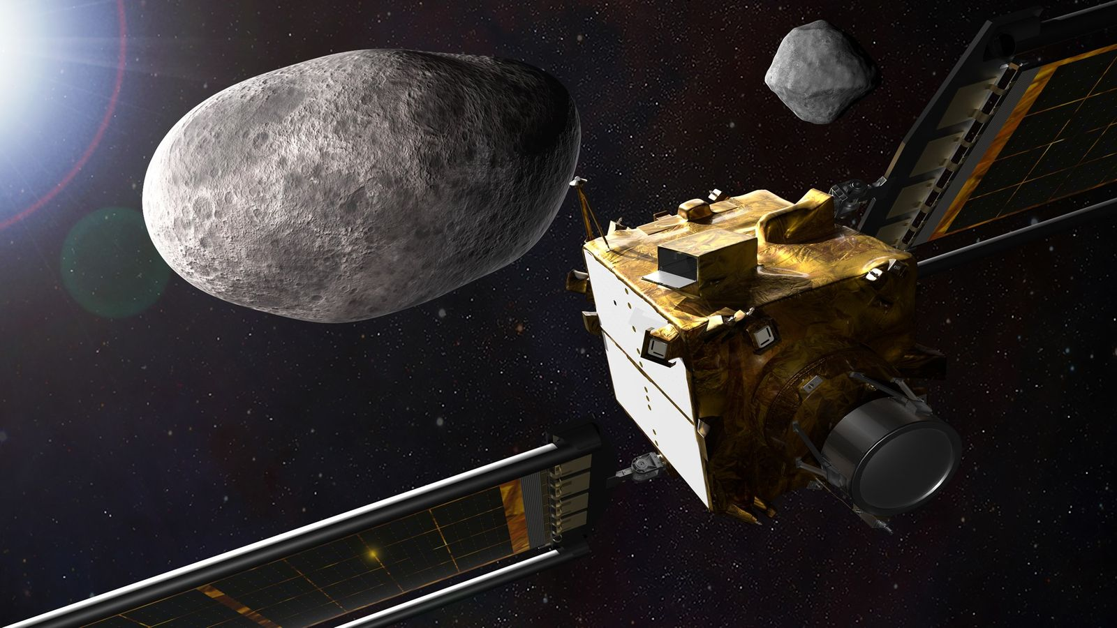 NASA will distract an asteroid