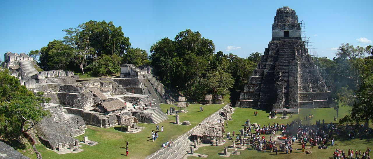 The Mayans fascinate us for the development of their architecture and astronomy.