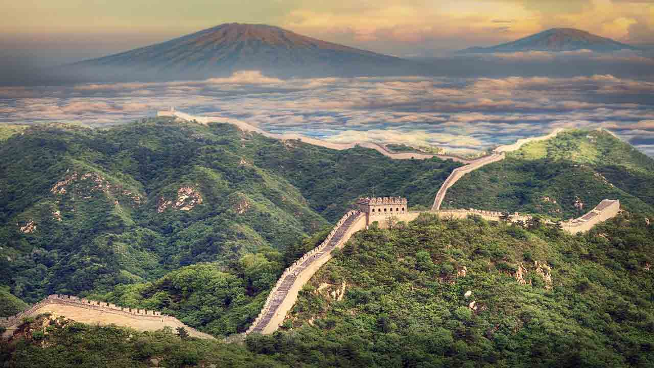 7 wonders of the modern world - great wall