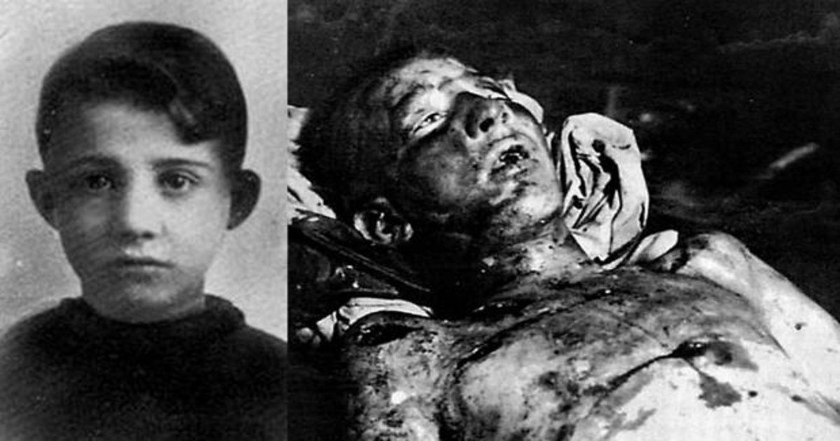 The boy who almost murdered Mussolini, Anteo Zamboni.