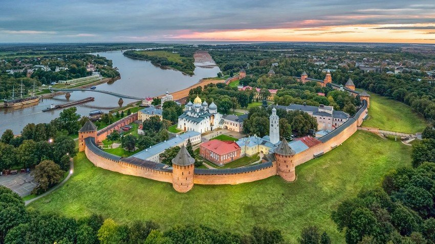 The city of Novgorod, which Russia produced, preserves its current historical heritage.