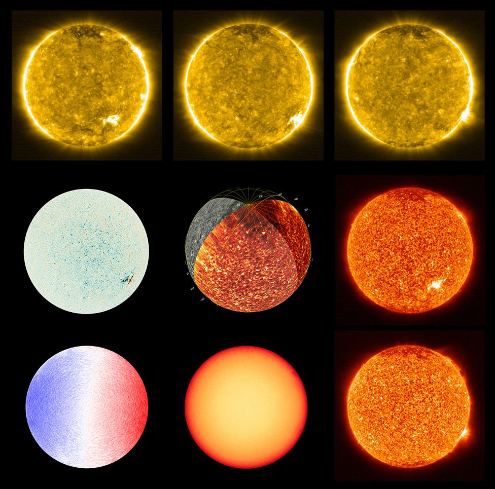 Photos that have been taken closer to the sun than ever before and that also allow you to analyze components and details that have never been examined before.