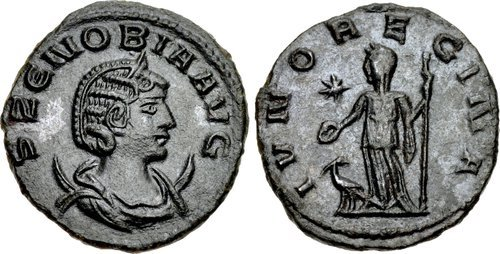 Coins were minted with his portrait when he conquered Egypt.