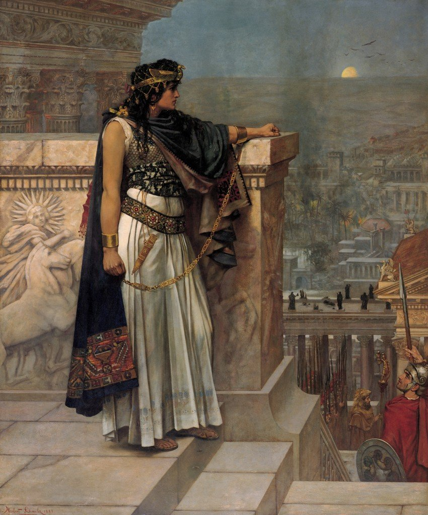 The descendant of Cleopatra who opposed Rome