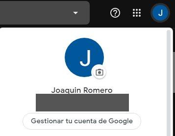Gmail profile