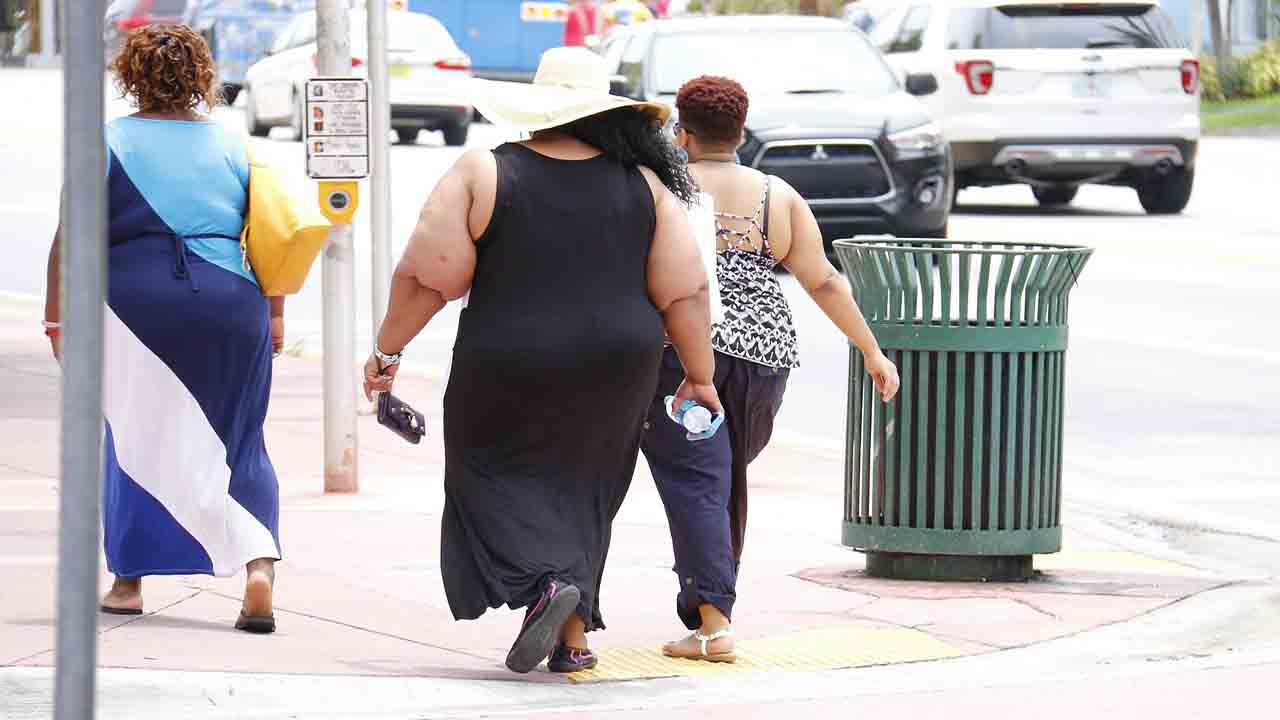 Overweight people are at a higher risk from Covid 19