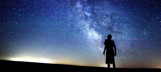 From the start, men stared at the stars in fascination.