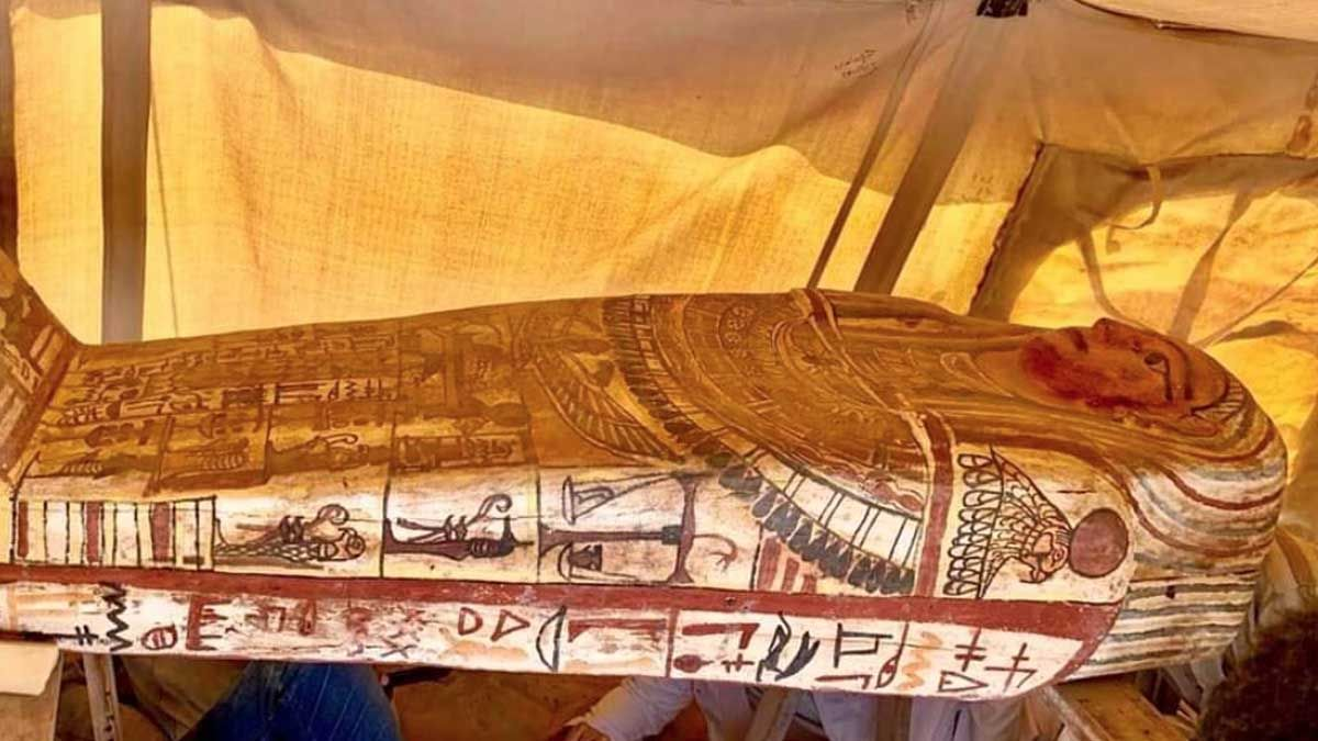The discovery of 27 Egyptian coffins is good news for Egypt and the world.