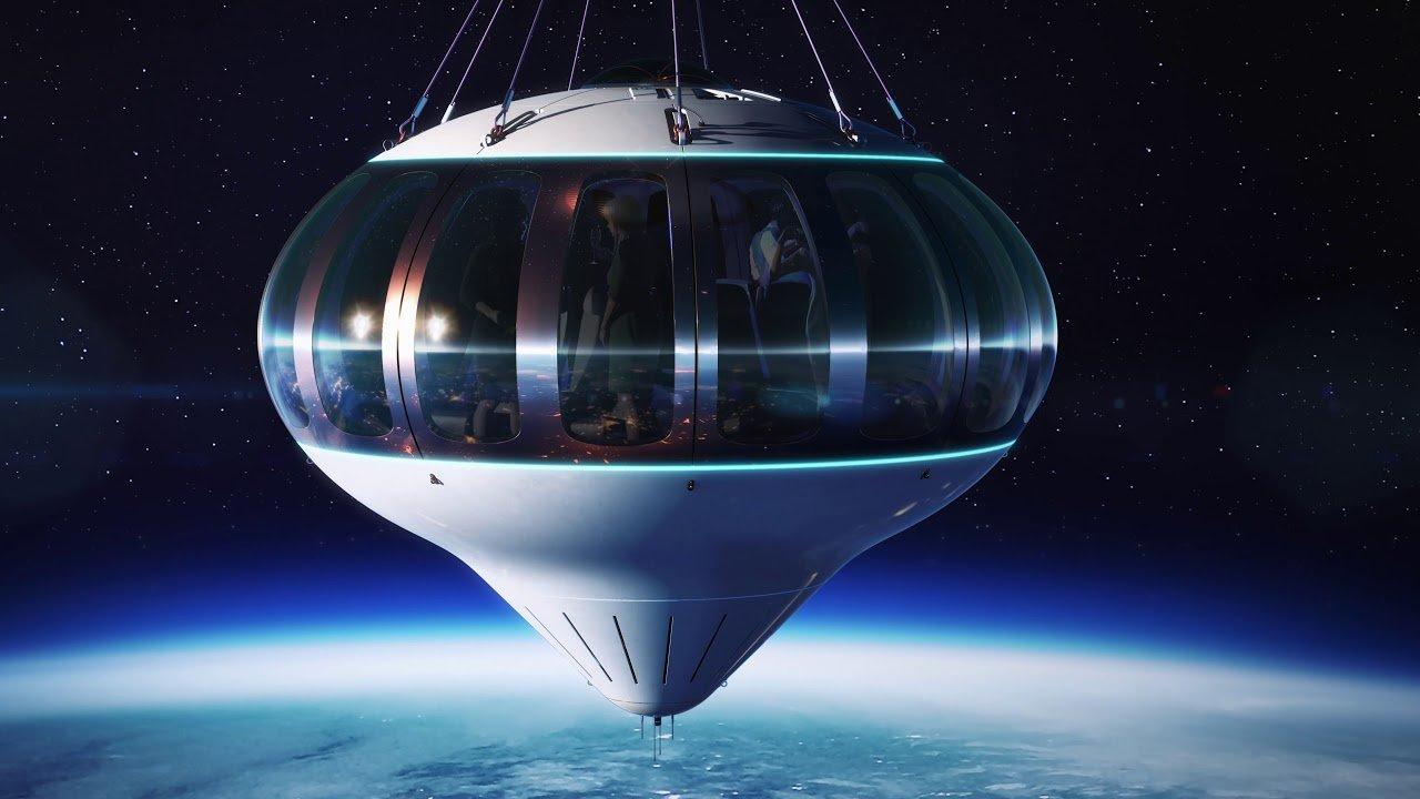 The balloon flight to the edge of space will soon become a reality.