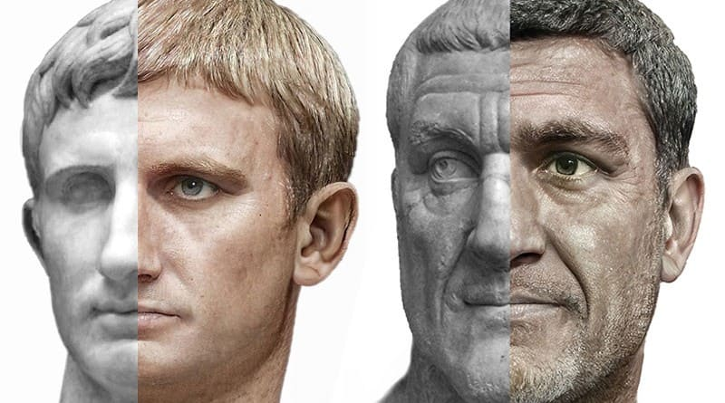 Such were the Roman emperors according to artificial intelligence