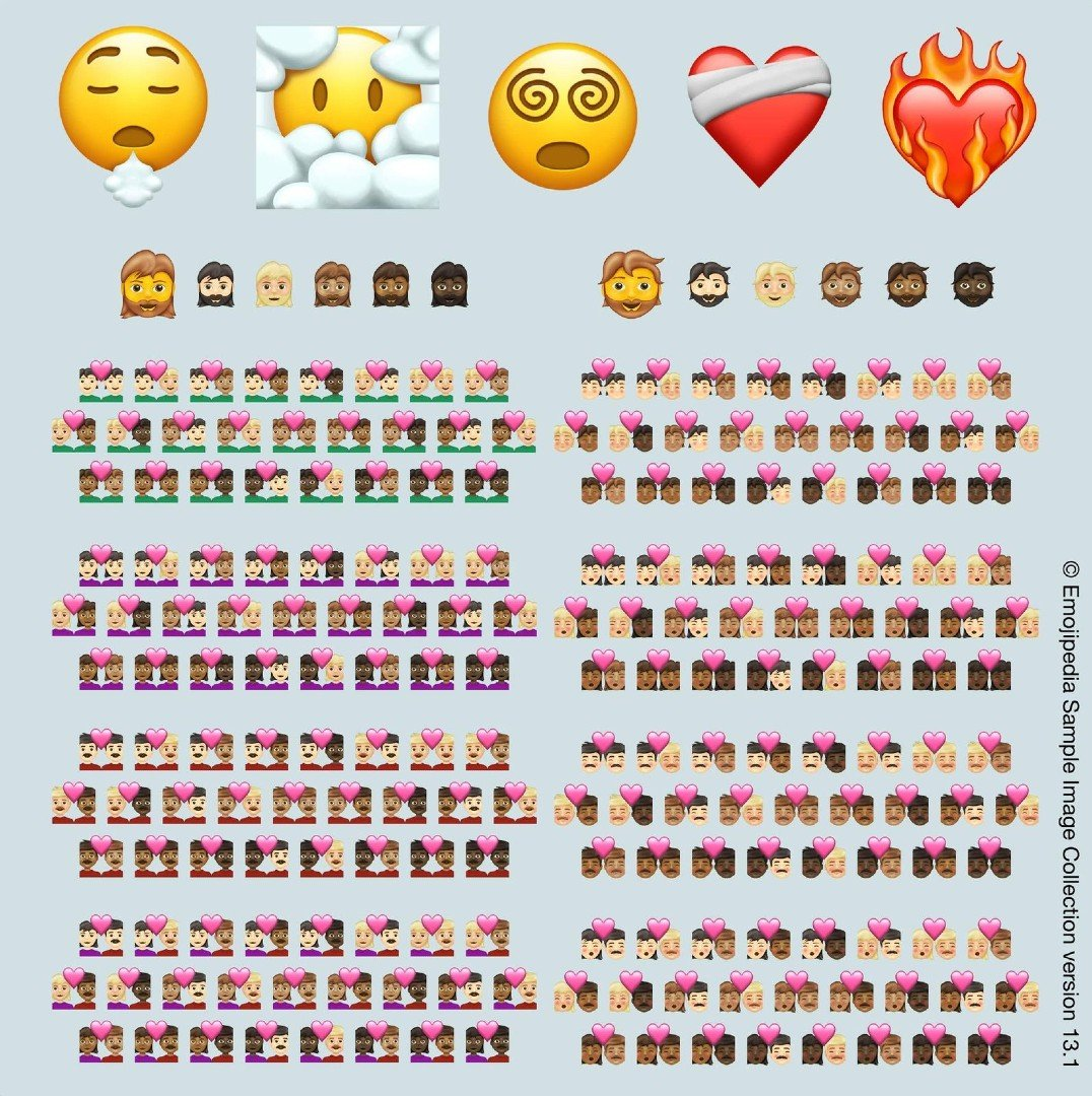New emojis in 2021