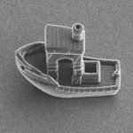 The smallest ship in the world in 3D