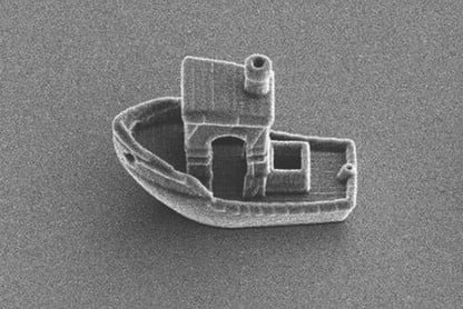The smallest ship in the world was made with a sophisticated 3D printer