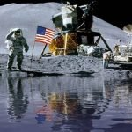 They discovered water on the moon's surface