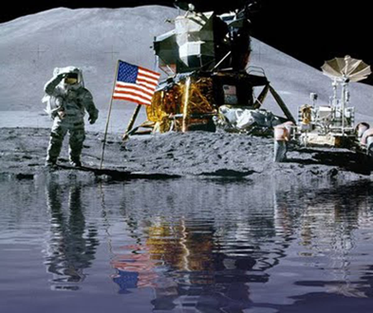In the future, several processes for using water on the moon may be developed.