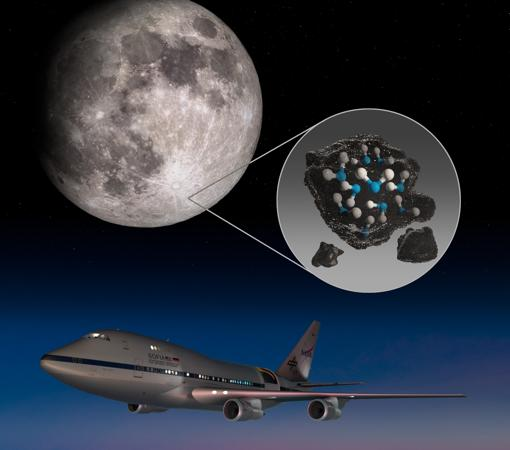 Thanks to the SOFIA observatory, they were able to discover water on the lunar surface.