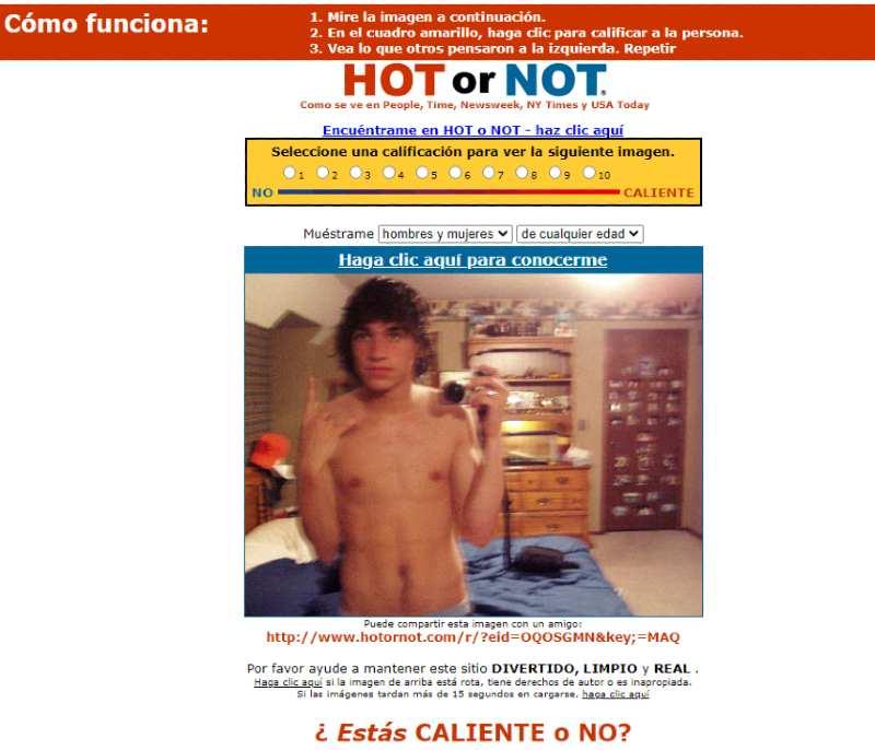 HotOrNOT Social Web