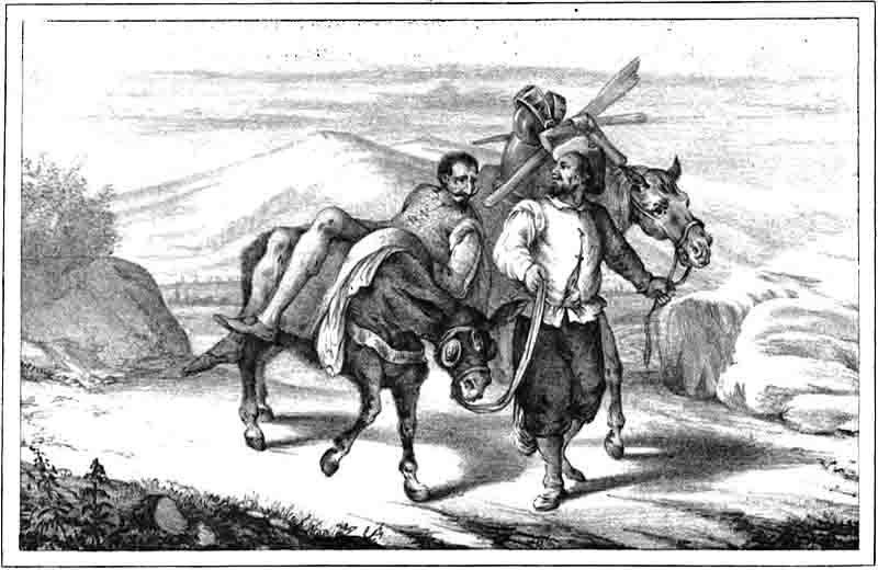 Illustration by Don Quixote de la Mancha