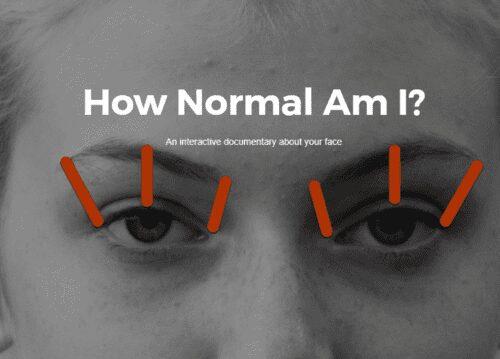 How normal am i? Checks how facial recognition algorithms work